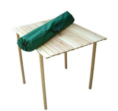 Camping tables - Pin It :-) Follow us :-))  zCamping.com is your Camping Product Gallery ;) CLICK IMAGE TWICE for Pricing and Info :) SEE A LARGER SELECTION of camping tables at http://zcamping.com/category/camping-categories/camping-furniture/camping-tables/ -  hunting, camping, camping tables, camping gear, folding tables, portable tables, tables, camping accessories -  Roll Top Wooden Picnic / Beach Table « zCamping.com