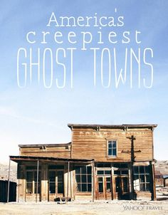 By Katrina Brown Hunt Some ghost towns are protected by parks departments.  For years, visitors to this ghost town have learned that bad luck will befall anyone who makes off with an artifact—a curse that is lifted only when the piece of contraband is returned.  Sure enough, park ranger Mark Langner