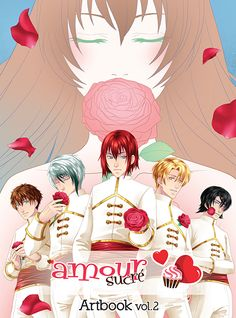 Amour Sucré, l'Artbook vol. 2 preview