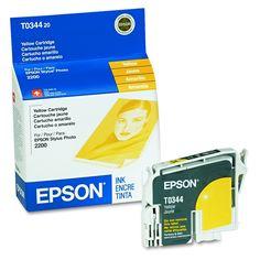 Epson Oem Genuine Inkjet/ Ink Cartridge (440 Yield) - Yellow (EPST034420)