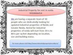 industrial property for rent in noida 9910006454