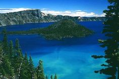 Crater Lake.  We hope to visit here when we visit my maternal relatives that live near here this summer. Beautiful!