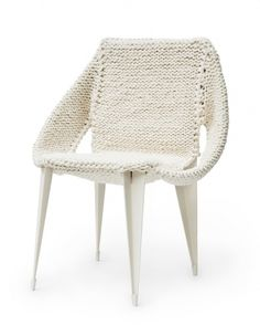 Easy-chair a cooperation with droog   Isabel Berglund