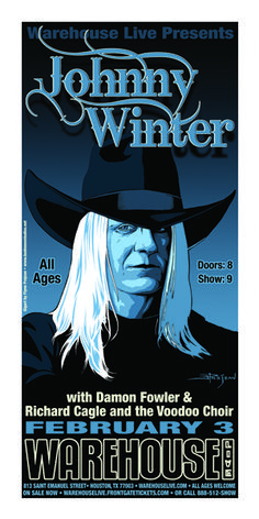 Johnny Winter - Houston Show. From Beaumont
