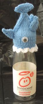 Innocent Smoothies Big Knit Hat Patterns - Shark I really want one