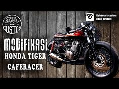 "modifikasi Caferacer ""the nerd"" MEGAPRO - YouTube"