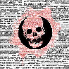 Gears of War COG Logo Typography by ThomasDriver.deviantart.com on @deviantART