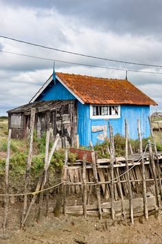 There are oyster farms all across Ile d'Oleron but the ones in Dolus are particularly lovely. You will get to see the lovely painted huts, walk the farms and of course taste some local oysters or huitres as they are known. Google Image Result for http://www.lifeatf8.co.uk/blog/wp-content/uploads/2011/10/wpid865-NJH_110823_6904.jpg