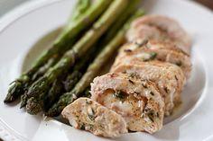 Chicken Cordon Bleu, on the grill.