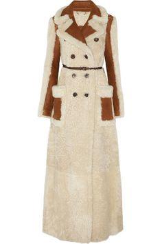 Chloé | Reversible shearling coat | NET-A-PORTER.COM