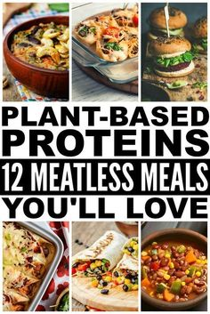 Looking for easy plant based recipes that will actually make you feel full? Whether you're looking for breakfast, lunch, or dinner ideas, meatless meals have never tasted better with these plant based proteins. Perfect for beginners, these whole food recipes are great for diabetics, vegans…and even for kids! Eating healthy has never tasted so good.