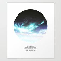 stop running away + Art Print by Cloud Story + - $18.72