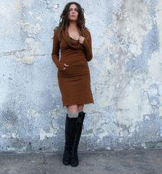 ORGANIC Gypsy Darjeeling Short Dress (hemp/organic cotton fleece) - organic dress by gaiaconceptions on Etsy https://www.etsy.com/listing/210804058/organic-gypsy-darjeeling-short-dress