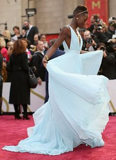 Lupita = Oscar night perfection.