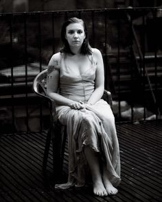 Lena Dunham. Photo by Grant Delin