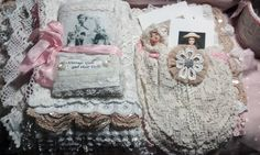 Vintage Girls and their DollsFabric & Lace Book - pages 5 & 6 https://www.youtube.com/watch?v=NTZmjdKALn8