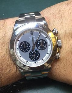 Rolex Daytona Steel 116520 Slate Face - WOW ! Box & Booklets