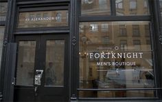FortKnight Men's Boutique | Gastown, Vancouver BC