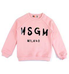#MSGM FELPA STAMPA LOGO ROSA Felpa raglan a maniche lunghe con collo rotondo e polsini. http://www.cocochic.it/it/home/235-felpa-stampa-logo-rosa.html
