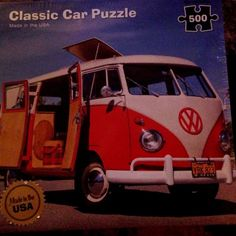Volkswagen Van Bus Re-Marks NIB Classic Car Jigsaw PUZZLE With Poster NEW Sealed | Toys & Hobbies, Puzzles, Contemporary Puzzles | eBay!