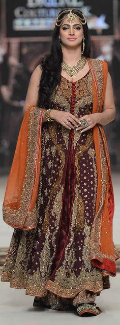 #AishaImran Telenor #BridalCoutureWeek 2014 Souvenir Collection #BridalDresses #BridalCollection