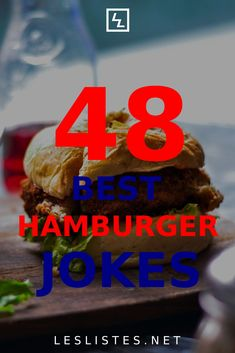 Hamburgers are one of the most iconic foods. With that in mind, check out the top 48 hamburger jokes that you should know. #hamburger Recipe Icon, Food Facts, Hamburgers, Funny Things, Food And Drink, Jokes, Beef, Healthy Recipes, Humor