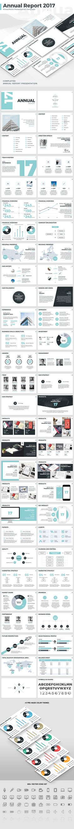 Annual Report 2017 - PowerPoint Template