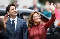Prime Minister Justin Trudeau, pictured with his wife Sophie in 2016, and his family, as well as a Liberal MP and the president of the party and their spouses, stayed at the Aga Khan's home on Bell Island in the Bahamas for a post-Christmas vacation