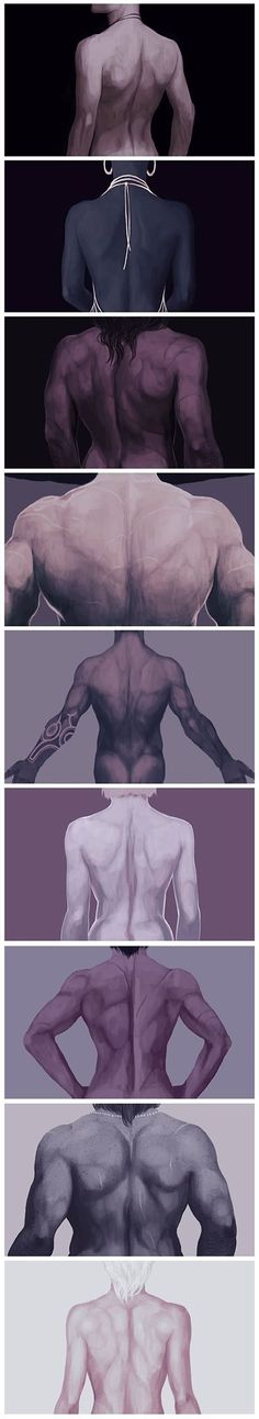 The literal backs of Dragon Age: Inquisition! << Took me a bit to figure out who's who.