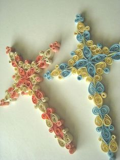 The Elizabeth Cross - Detailed Quilling Tutorial in PDF. $5.00, via Etsy.