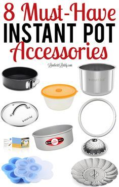 Pressure cooker recipes 440789882277840946 - Want to know what products are must haves for your 6 or 8 quart Instant Pot? These are the best electric pressure cooker accessories and include stainless steel and silicone options! Source by azomamy Best Electric Pressure Cooker, Instant Pot Pressure Cooker, Pressure Cooker Recipes, Pressure Cooking, Instant Cooker, Electric Cookers, Pressure Pot, Best Instant Pot Recipe, Instant Pot Dinner Recipes