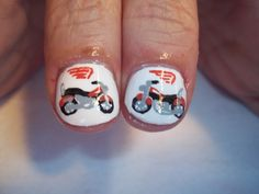 Nail art on Pinterest | Nails, Nail Art and Harley Davidson Motorcycl ...