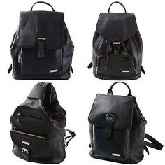 0b779252819d Buy Womens Leather Backpack Purse Sling Shoulder Bag Handbag 3 in 1  Convertible New at online store