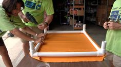 How to make an Elevated Dog Bed using PVC