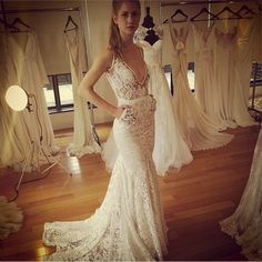 Bridal Fashion Week gave us a glimpse of the 2014 wedding dresses and we are pumped! - Wedding Party   Wedding Party