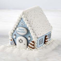 Hanukkah Gingerbread House