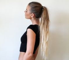 This is the ombré I love. I need my hair to be this long