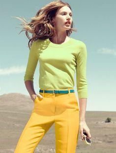 2. Looks coloridos_como combinar peças coloridas_como usar combinação de cores_colored outfits_5