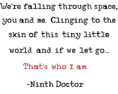 Doctor Who Quote Series 1 Ninth Doctor Pattern by EmmasCrossStitch, $3.00