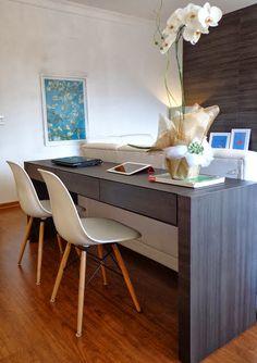 Aparador de Sofá como Home Office