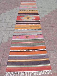 "Vintage Turkish Rug Runner,Corridor Rug 22,4""x98,4"" Hallway Runner,Carpet Runner #Turkish Ottomans, Runes, Rugs On Carpet, Bohemian Rug, Contemporary, Antiques, Cotton, Ebay, Home Decor"