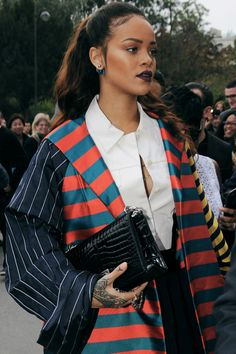 Rihanna Has the Best A-List Style Out There - Celebrities Female Looks Rihanna, Best Of Rihanna, Rihanna Love, Rihanna Style, Rihanna Fenty, Rihanna Makeup, Rihanna Fashion, Estilo Rihanna, New Wave