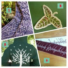Lord of the Rings Knitting Patterns - Enjoy The Hobbit -  The desolation of Slaughter even more with these Lord of the Rings inspired knitting projects.