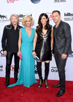 Pin for Later: Seht alle Stars auf dem roten Teppich bei den Billboard Awards! Little Big Town