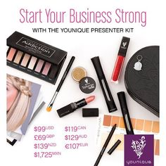 Meet our brand new Presenter Kit!  Weve added some of our new September products as well as samples of our pigments bronzers and blushers. And dont forget that you get an extra set of #3DFiberLashesPlus for FREE while our YOU Campaign continues! Theres never been a better time to join #Younique!  Wed list everything that comes with the kit here but the list is way too long so go to the link in our bio to find out what youll get in your kit! #SoMuchMoreThanMascara