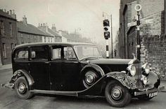 1938 Limousine by Park Ward (chassis WXA109, body 4446, design 13317)