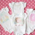 DIY monthly baby onesies + $100 #Target #giveaway