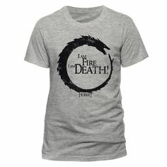 T-shirt The Hobbit La Bataille des Cinq Armées Fire Death