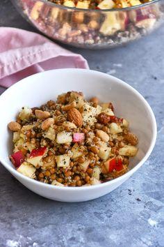 Almás-lencsés quinoasaláta recept | Street Kitchen