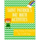 This Saint Patrick's Day activity is geared towards Pre-K, Kindergarten and 1st graders.  It's a fun way to celebrate the holiday while practicing ...